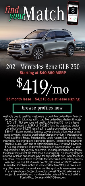 2021 Mercedes-Benz GLB 250 Models