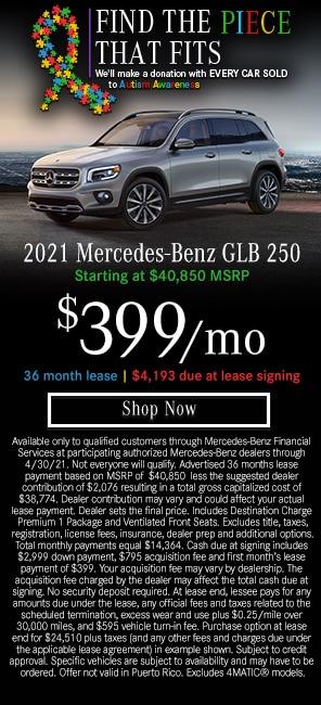2021 Mercedes-Benz GLB 250 Models