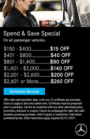 Spend & Save Service Coupon in Duluth, GA