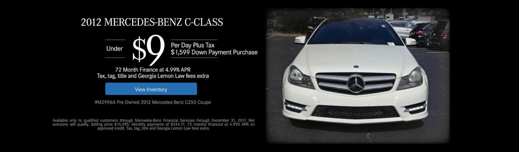 Atlanta mercedes benz dealership new used luxury cars for Mercedes benz dealers atlanta