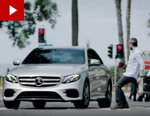 Mercedes E-Class Evasive Steering