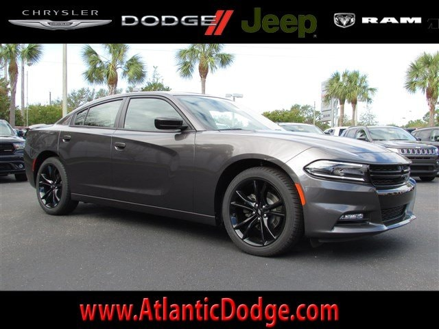 2018 Dodge Charger SXT Plus With Blacktop Pkg. RWD