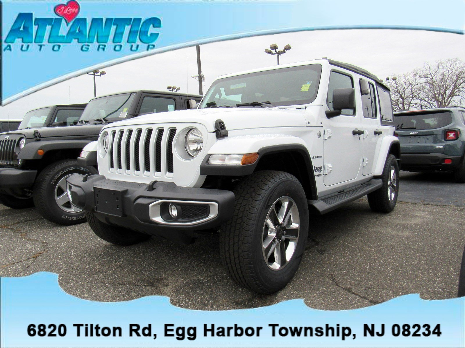 New 2018 Jeep Wrangler UNLIMITED SAHARA 4X4 For Sale