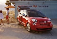 2017 FIAT 500L near Atlantic City
