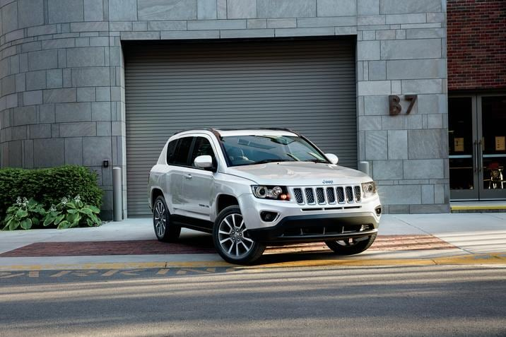 2017 Jeep Compass near Atlantic City