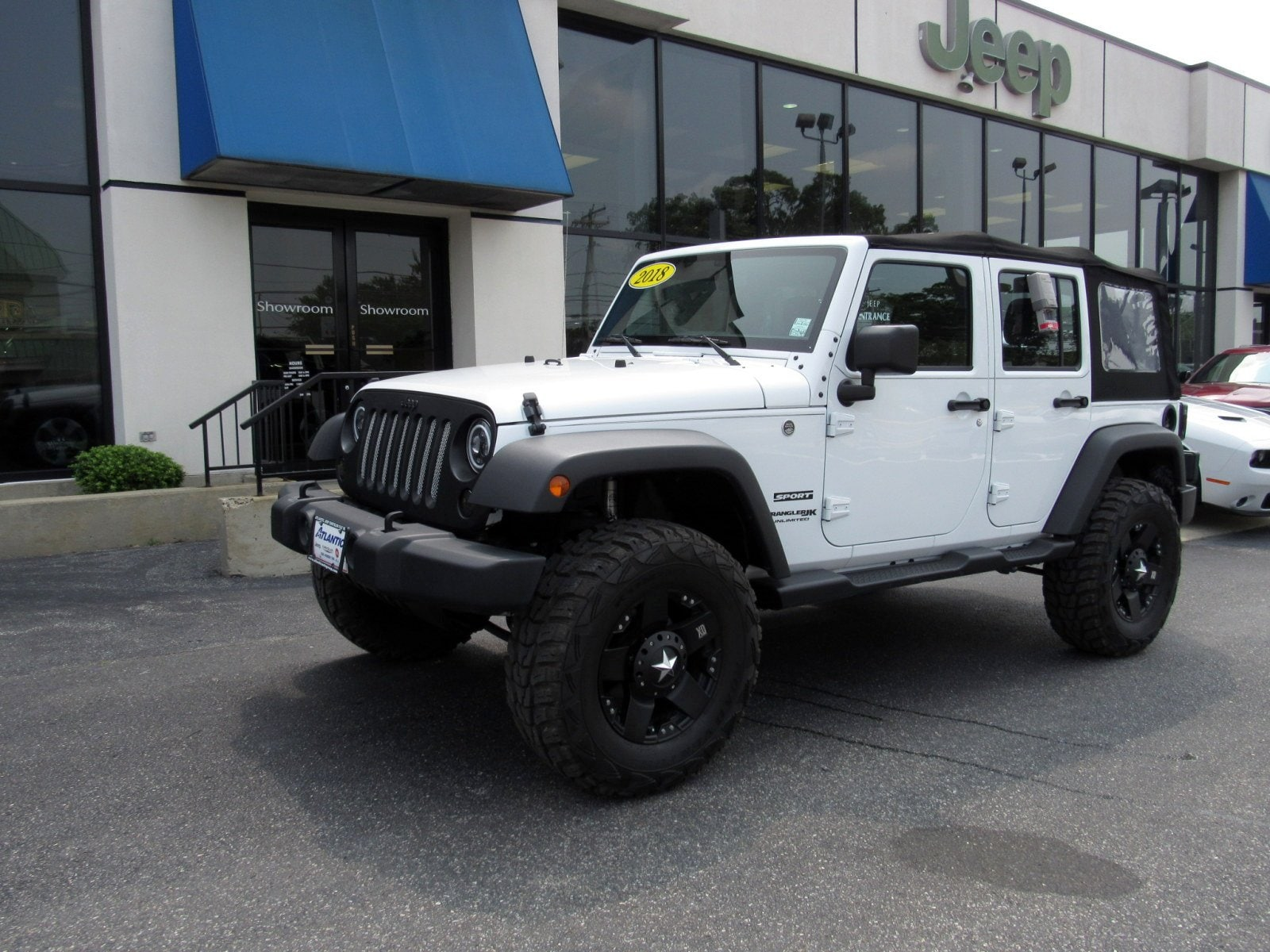 2018 Jeep Wrangler JK Unlimited Sport Convertible