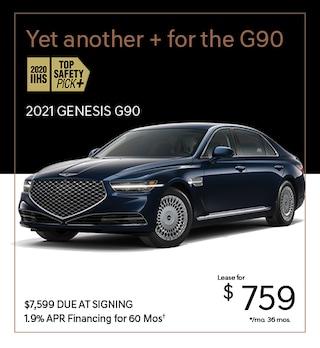 2021 Genesis G90 Dec. Lease Offer