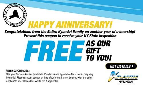 Service Specials | Atlantic Hyundai