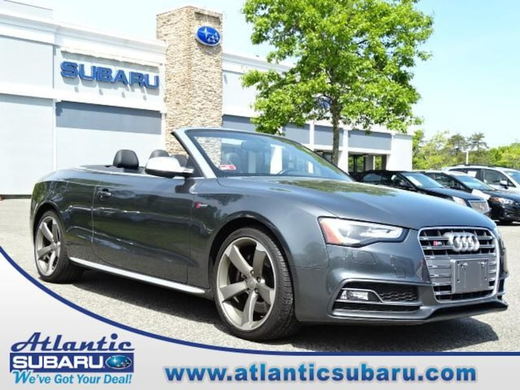 Used 2017 Audi S5 3.0 Tfsi Cabriolet for sale on Cape Cod MA