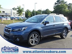 New 2018 Subaru Outback 2.5i Limited with EyeSight, Navigation, High Beam Assist, Reverse Auto Braking, LED Headlights, Steering Responsive Headlights, and Starlink SUV 4S4BSANC0J3354785 for sale in Bourne MA