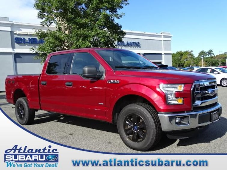 Used 2016 Ford F-150 4WD Supercrew 145 XLT Truck SuperCrew Cab for sale on Cape Cod MA