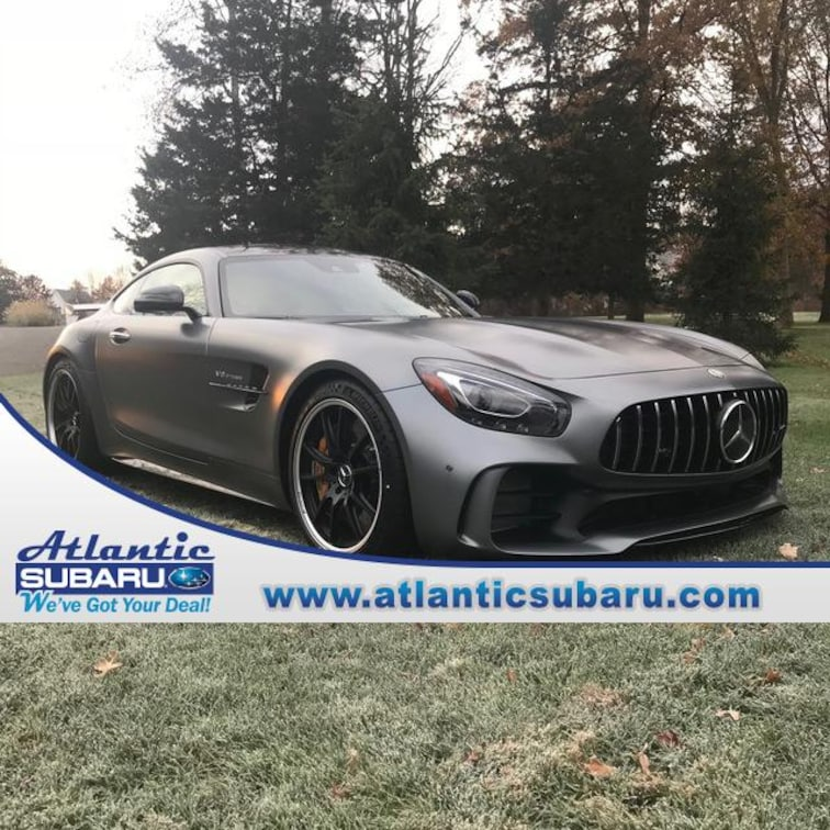 used 2018 mercedes benz amg gt amg gt r coupe bourne ma cape cod stock c126. Black Bedroom Furniture Sets. Home Design Ideas