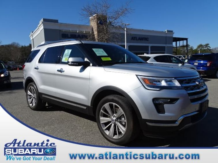Used 2018 Ford Explorer Limited 4WD SUV for sale on Cape Cod MA