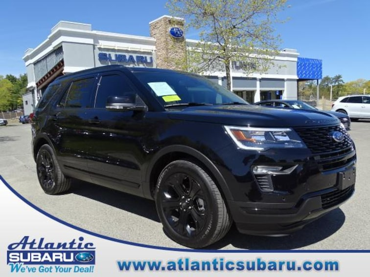 Used 2019 Ford Explorer Sport 4WD SUV for sale on Cape Cod MA