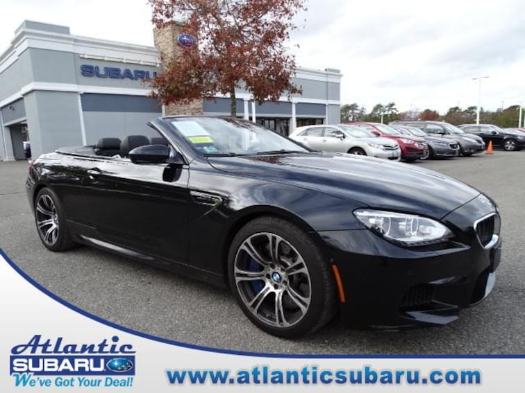Used 2014 BMW M6 Convertible for sale on Cape Cod MA