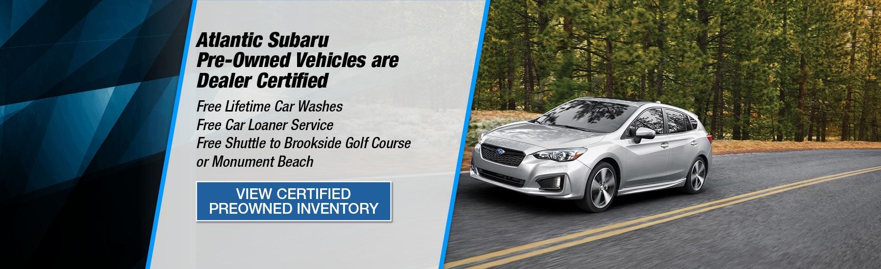 Atlantic Subaru | Number #1 Cape Cod Subaru Dealer | New
