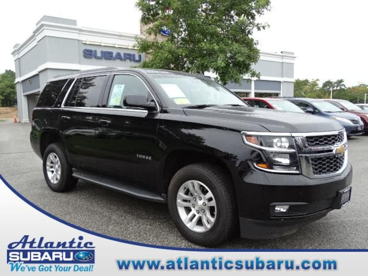 Used 2018 Chevrolet Tahoe 4WD  LT SUV for sale on Cape Cod MA