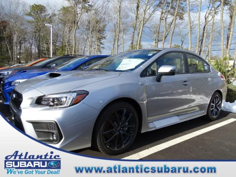 New 2018 Subaru WRX Limited with Navigation System, Harman Kardon Amplifier & Speakers, Rear Cross Traffic Alert, and Starlink Sedan for sale in Bourne MA