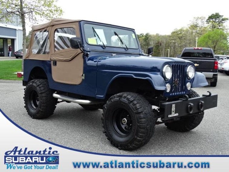 Used 1980 Jeep CJ SUV for sale on Cape Cod MA