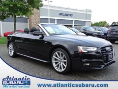 Used 2015 Audi A5 Cabriolet Auto Quattro 2.0T Premium Plus Convertible WAUMFAFHXFN009641 for sale in Bourne MA