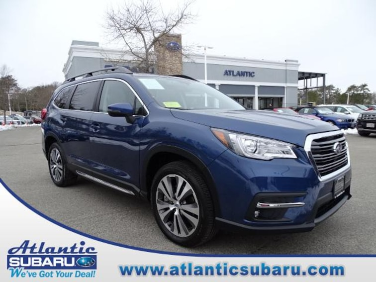 Certified Pre-Owned 2019 Subaru Ascent 2.4T Limited 7-Passenger SUV for sale in Bourne MA