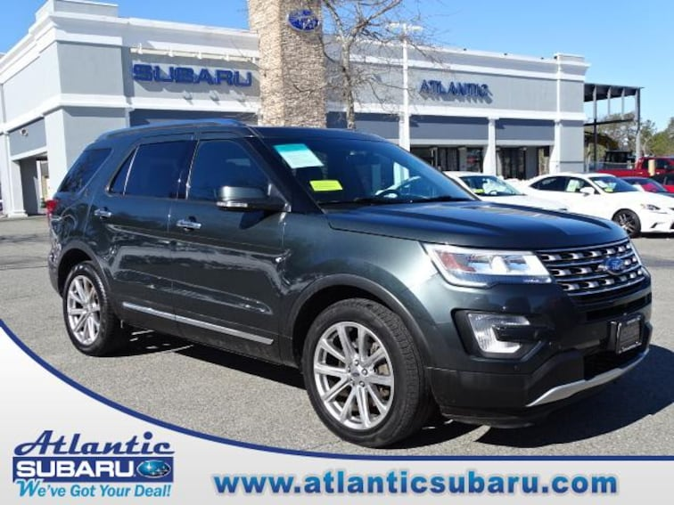 Used 2016 Ford Explorer 4WD  Limited SUV for sale on Cape Cod MA