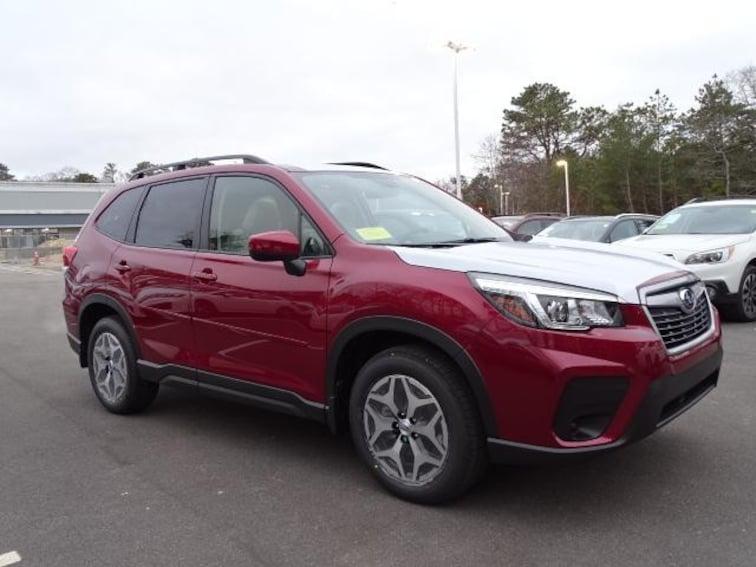New 2019 Subaru Forester Premium SUV for sale in Bourne MA