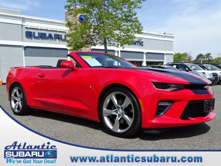 Used 2017 Chevrolet Camaro SS w/1SS Convertible for sale on Cape Cod MA