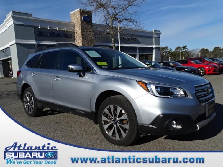 Certified Pre-Owned 2016 Subaru Outback 2.5i Limited Pzev SUV for sale in Bourne MA