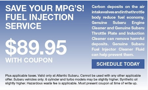 Save Your MPG's Fuel Injection Service