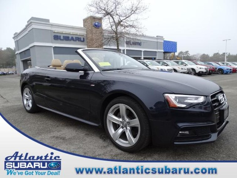 Used 2016 Audi A5 Cabriolet Auto Premium Plus Cabriolet for sale on Cape Cod MA