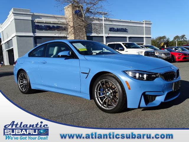 Featured 2018 BMW M4 Coupe for sale in Bourne, MA at Atlantic Subaru