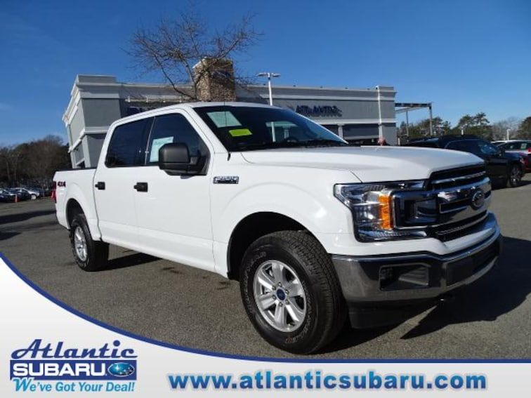 Used 2018 Ford F-150 XLT 4WD Supercrew 5.5 Box Truck SuperCrew Cab for sale on Cape Cod MA