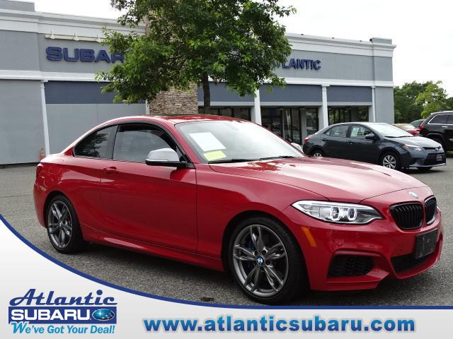 Featured 2016 BMW M235i M235i Xdrive AWD Coupe for sale in Bourne, MA at Atlantic Subaru
