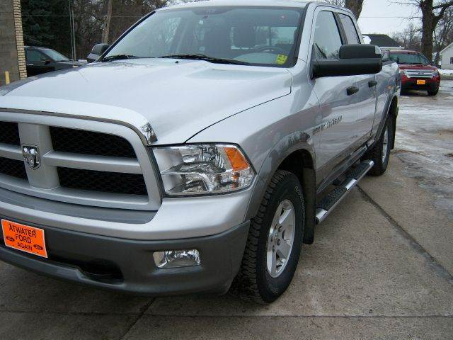 2011 Ram Ram Pickup 1500 Outdoorsman 4x4 4dr Quad Cab 6.3 ft. SB Pickup Pickup Truck