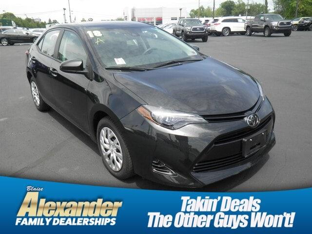 Used 2018 Toyota Corolla For Sale at Blaise Alexander Kia