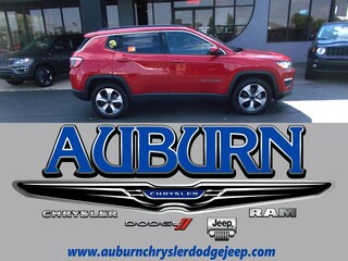 New 2017 Jeep Compass LATITUDE FWD Sport Utility 3C4NJCBB1HT647475 for sale in Auburn, IN