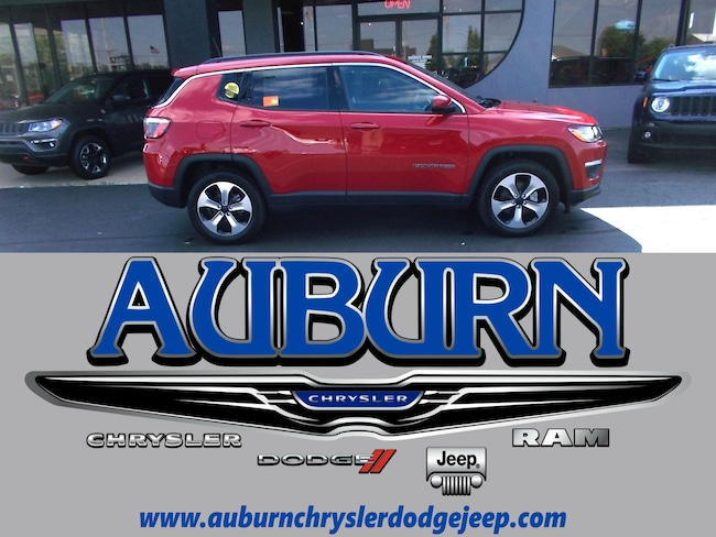 New 2017 Jeep Compass LATITUDE FWD Sport Utility for sale in Auburn, IN