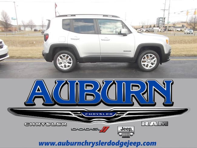 Used 2016 Jeep Renegade Latitude 4x4 SUV for sale in Auburn, IN