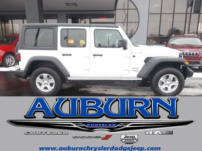 New 2019 Jeep Wrangler UNLIMITED SPORT S 4X4 Sport Utility for sale in Auburn, IN