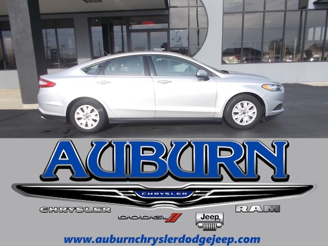 Used 2014 Ford Fusion S Sedan for sale in Auburn, IN
