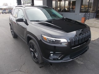 New 2019 Jeep Cherokee ALTITUDE 4X4 Sport Utility 1C4PJMLB2KD395049 for sale in Auburn, IN