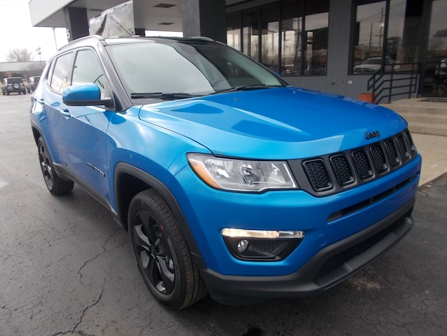 New 2019 Jeep Compass ALTITUDE 4X4 Sport Utility for sale in Auburn, IN