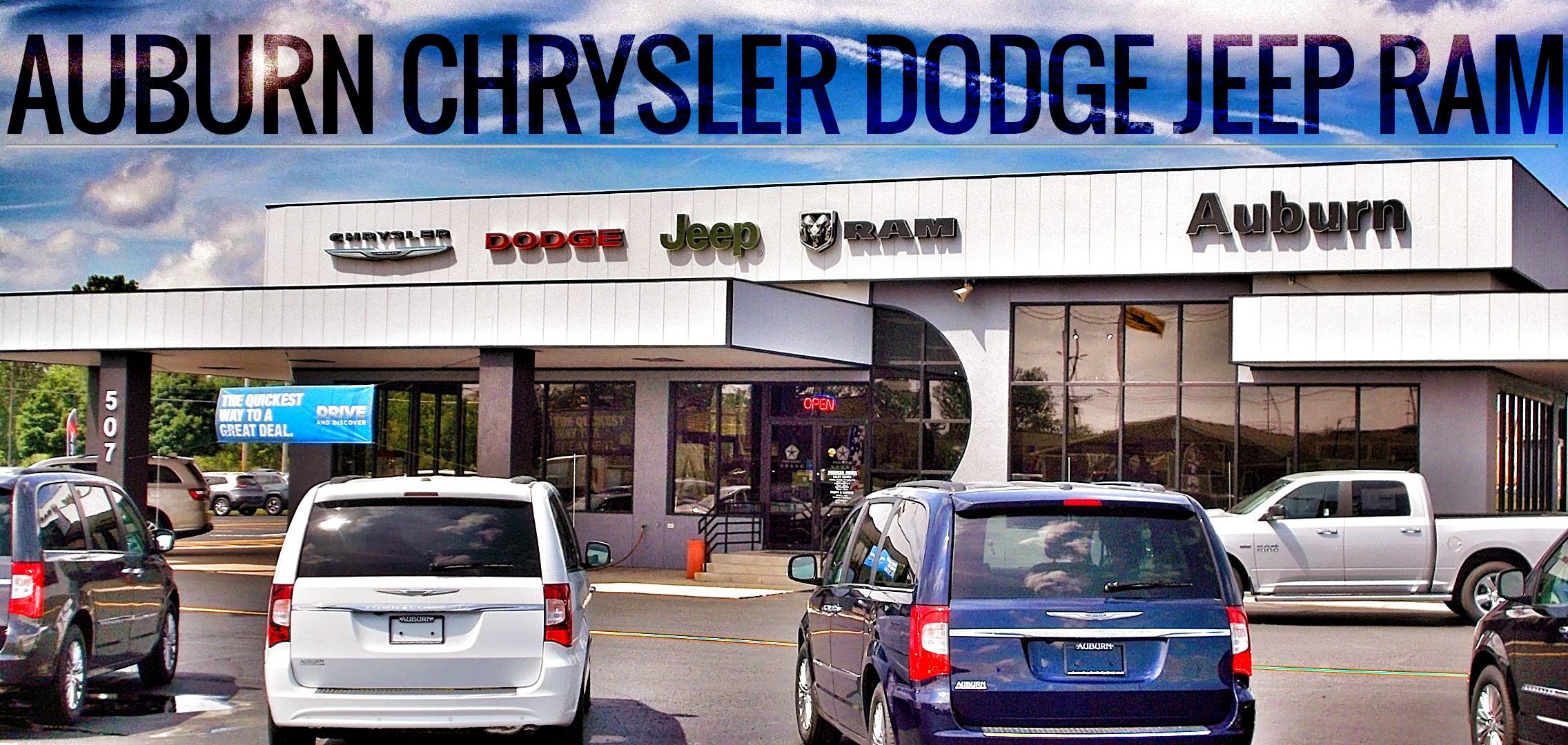 Auburn Chrysler Dodge Jeep Ram