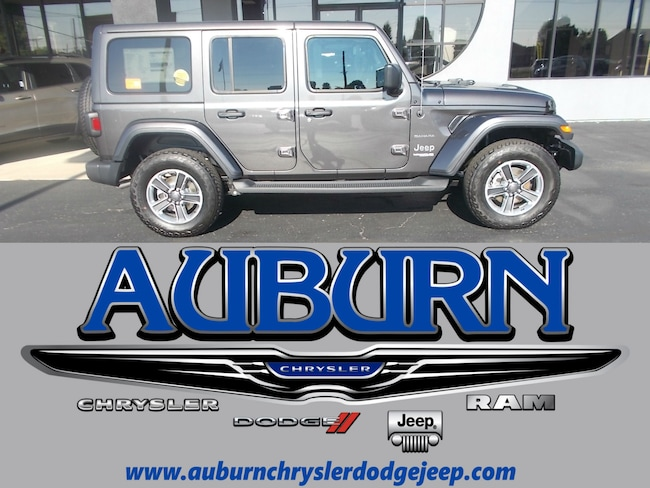 New 2018 Jeep Wrangler UNLIMITED SAHARA 4X4 Sport Utility for sale in Auburn, IN