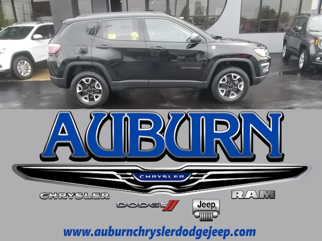 New 2018 Jeep Compass TRAILHAWK 4X4 Sport Utility for sale in Auburn, IN