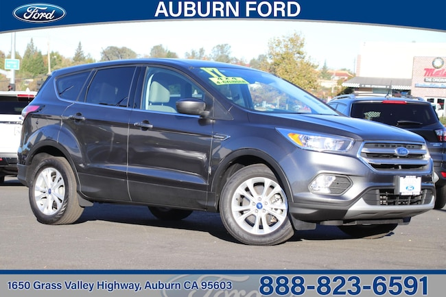 2017 Ford Escape SE Four-Wheel Drive With Locking and Limited-Slip SUV