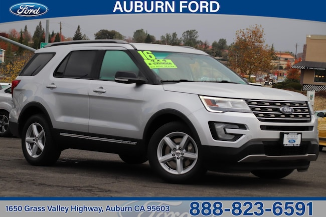 2016 Ford Explorer XLT Four-Wheel Drive With Locking Differential SUV