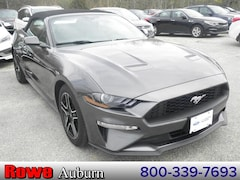 Used 2019 Ford Mustang Ecoboost Premium Convertible For Sale in Auburn, ME