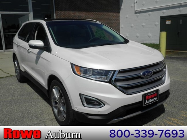 2018 Ford Edge Titanium Crossover For Sale in Westbrook, ME